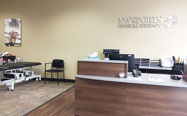 NW Sports Physical Therapy in Tumwater, WA Clinic Interior